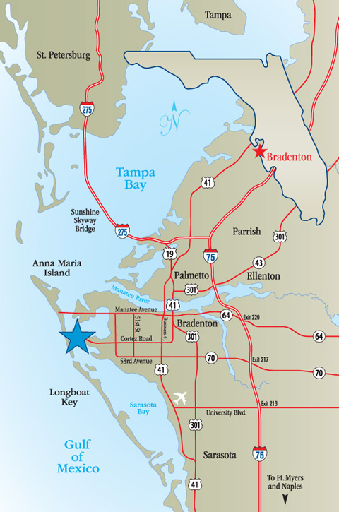 Bell Graphics Location Map