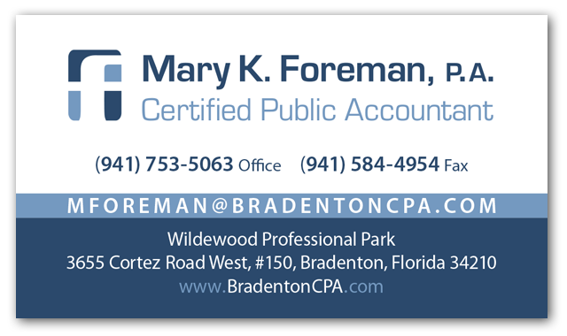 Mary Foreman Accountant